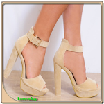 Download Cream High Heels APK