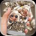 Download Golden Rose Flower Theme APK